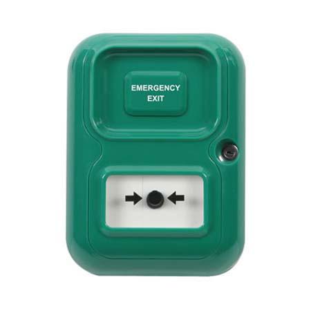 AP-2-G-I STI Alert Point Lite Stand Alone Alarm System - Emergency Exit - Green