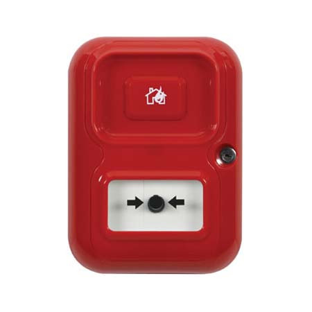 AP-2-R-A STI Alert Point Lite Stand Alone Alarm System - House/Flame Icon - Red