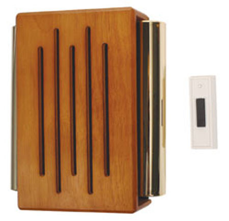 RC-3306 STI Door Chime with Wood Cover