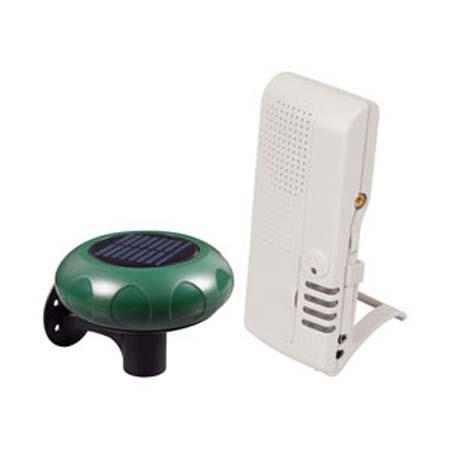 STI-V34100 STI Wireless Driveway Monitor (solar powered) w/Voice Receiver