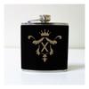 Engraved 6 oz Wedding Flask FD047