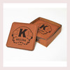 Coaster Leather Square CD028