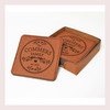 Coaster Leather Square CD032