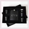 Engraved 6 oz Wedding Flask Set FD042