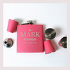 Engraved 6 oz Wedding Flask Set FD046