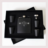Engraved 6 oz Wedding Flask Set FD051