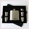 Engraved 6 oz Wedding Flask Set FD056