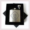 Engraved 6 oz Wedding Flask Small Set FD039