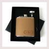 Engraved 6 oz Wedding Flask Small Set FD048