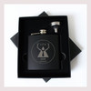 Engraved 6 oz Wedding Flask Small Set FD050