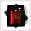 Engraved 6 oz Wedding Flask Small Set FD052