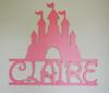 Disney Castle, Princess Name Sign, Personalized Castle, Nursery Decor