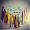 Personalized Wooden Name Sign Custom Word