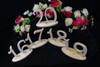 Wedding Table Number Sets