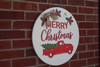 Christmas Wall  Decor, Truck & Tree