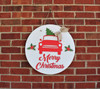 Christmas Wall  Decor, Car & Tree