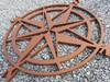 """24"""" Wooden Compass"""