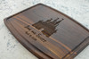 Personalized Disney Castle Cutting Board, Made in the USA