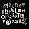 Wooden Alphabet Letters- Style 005
