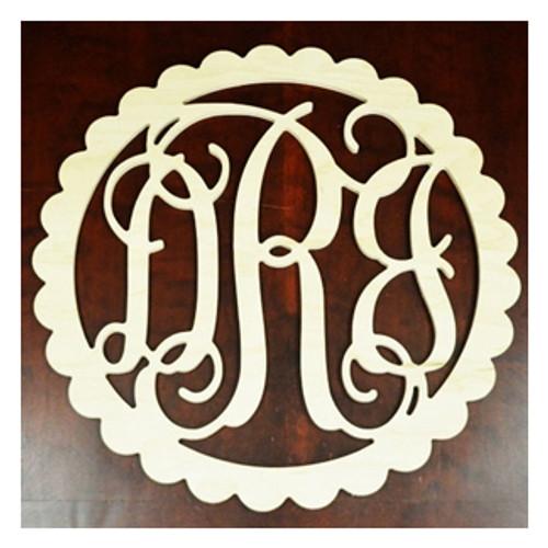 round monogram white round monogram white wooden monogram letters