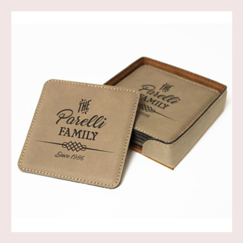 Coaster Leather Square CD037