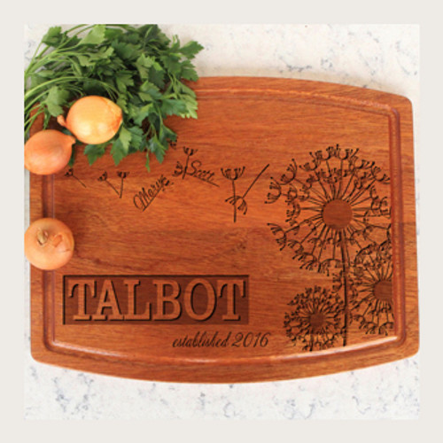 Engraved Cutting Board, Custom Cutting Board, Anniversary Gift, Unique Gift