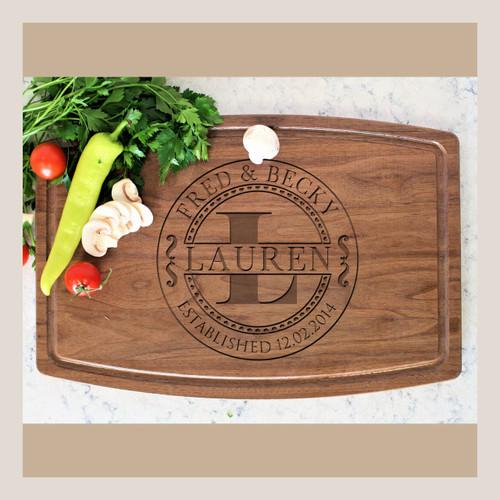 Engraved Cutting Board, Custom Cutting Board, Anniversary Gift, Unique Gift