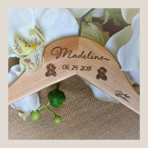 Wedding Hanger Bridal Gift Set
