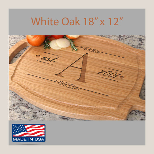 Engraved Wedding Cutting Board