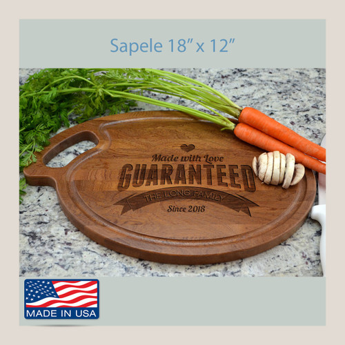 Cutting Board Personalized Oval