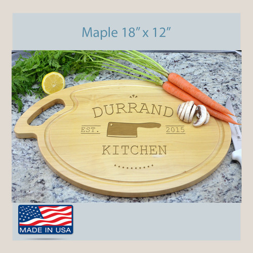 Cutting Board Gift Oval