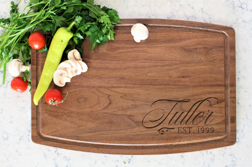 Personalized Cutting Board, Custom Cutting Board, Anniversary Gift, Unique Gift