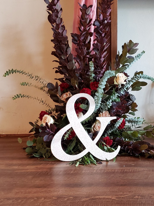 """""""&"""" Ampersand for Wedding Decor and Photo Prop"""