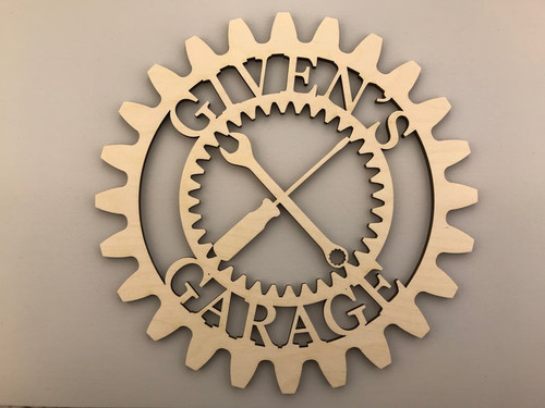 Garage Gear, Mechanic's Garage Name Sign
