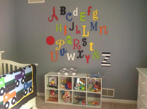 Alphabet Letters, Cute as  Button