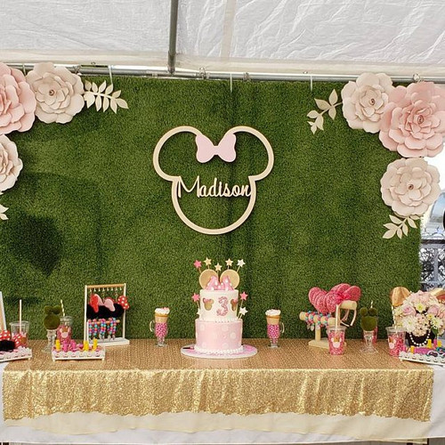 Mickey Mouse Backdrop Sign
