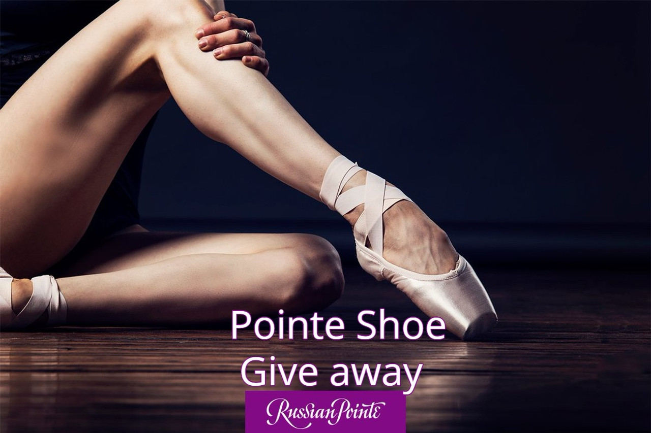 Pointe Shoe Give Away