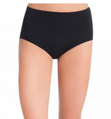 The Brief scores as an instant staple for dancers. Features a traditional rise waist and moderate leg line. Made of a nylon and spandex combination that is both soft and resilient. Can be worn as an undergarment under tutus, wrap skirts and dresses.  Product Features: Brief 90% Nylon, 10% Spandex Traditional rise Moderate leg line Recommended care: Machine wash cold, delicate cycle and hang dry