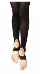 Capezio Child Ultra Soft Stirrup Tights Size 8-12 1961c