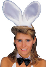Bunny Ears Deluxe Long Fur and Satin Assorted Colors