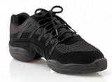"""Capezio """"Rock It"""" Dansneaker Black Dance Sneaker"""