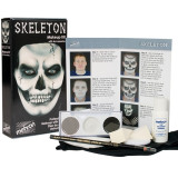 Skeleton Makeup Kit with Accessories Character Kit