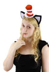 Dr. Seuss Original  The Cat in the Hat Headband with Ears