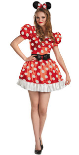 Adult Minnie Mouse Disney Costume (58791)