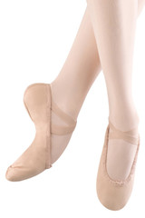 Bloch Ladies Dansoft II Leather Split Sole Ballet Shoe