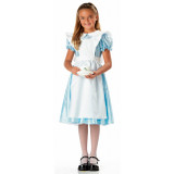 Alice Blue Dress w/ White Apron Child's Costume