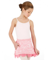 Capezio Girl's Knit Pull On Skirt w/ Pockets