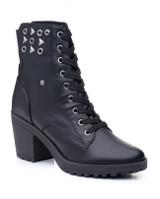 """Ladies Studded Dance Boot w/ 3"""" Heel Rebel"""