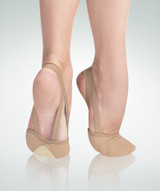 Twyla TotalSTRETCH Canvas Pleated Half Sole Slipper