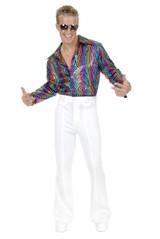 70's Disco Pants - White